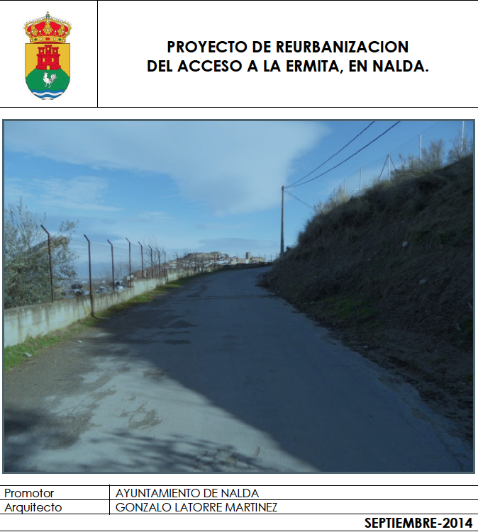 proyecto camino ermita