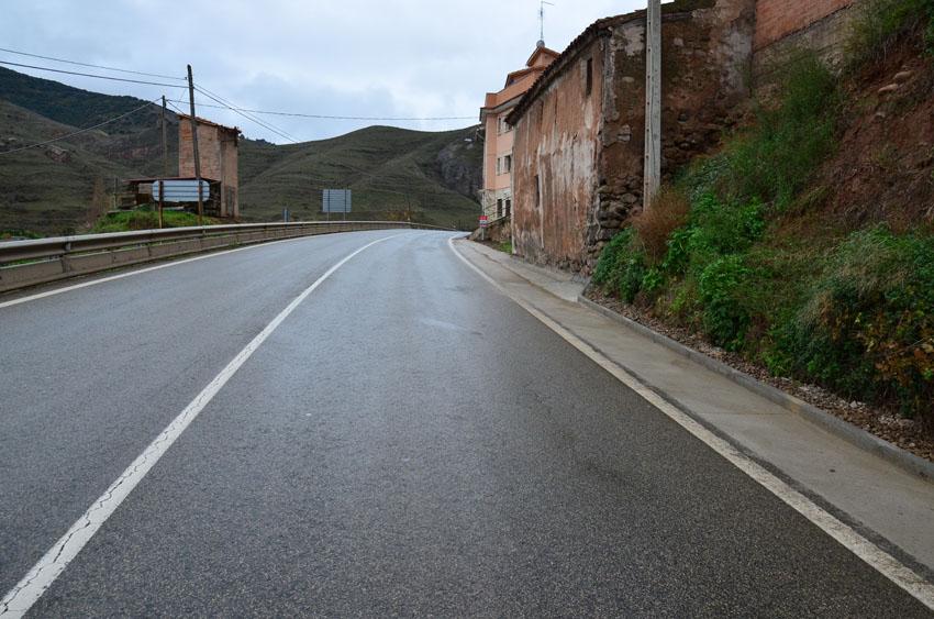 carretera entrada islallana