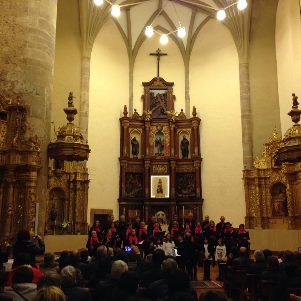 concierto de navidad coral