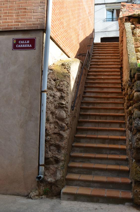 escaleras calle carrera
