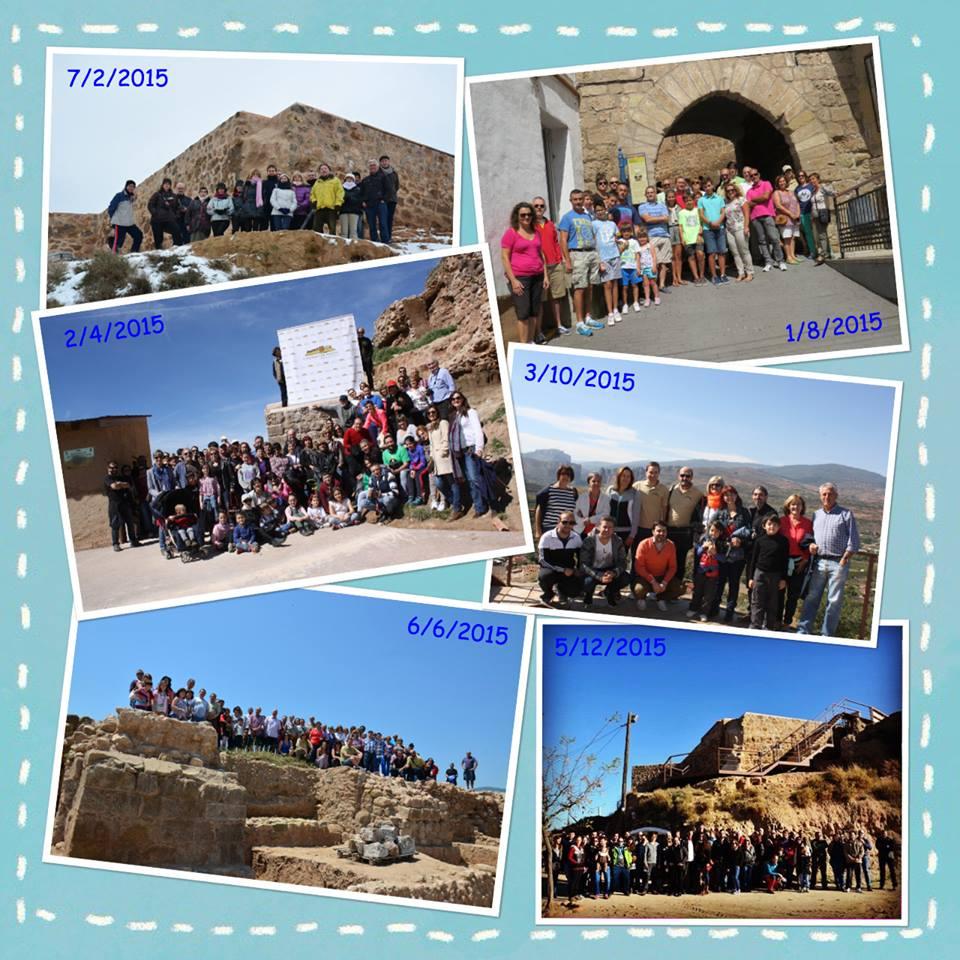 visitas castillo de nalda 2015