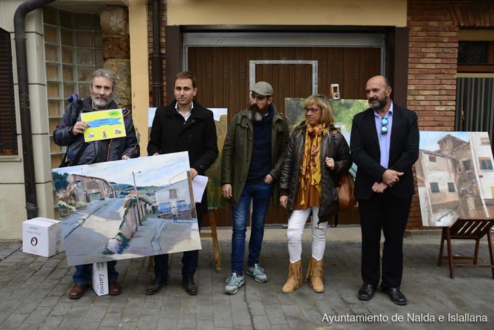 III Concurso de pintura rápida Villa de Nalda