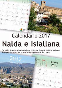 NUEVO CALENDARIO DE NALDA E ISLALLANA 2017