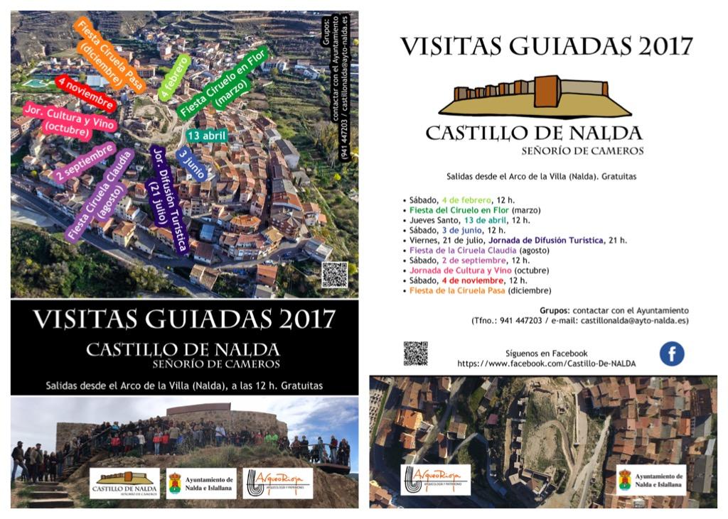 Calendario de Visitas Guiadas 2017