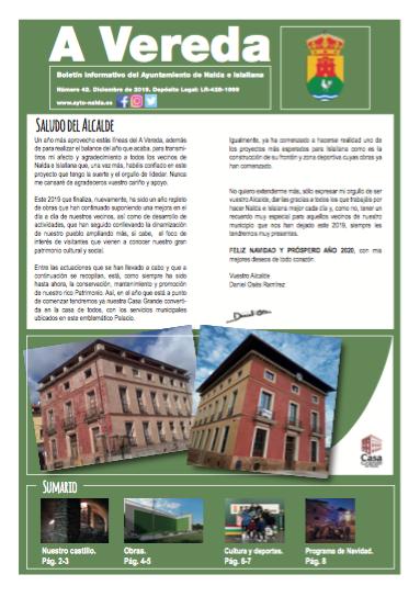 Revista Municipal «A Vereda» Nº 42